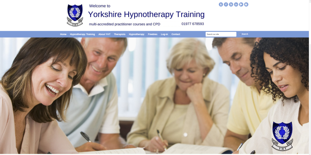 yorkshire hypnotheapy training - with author debbie waller